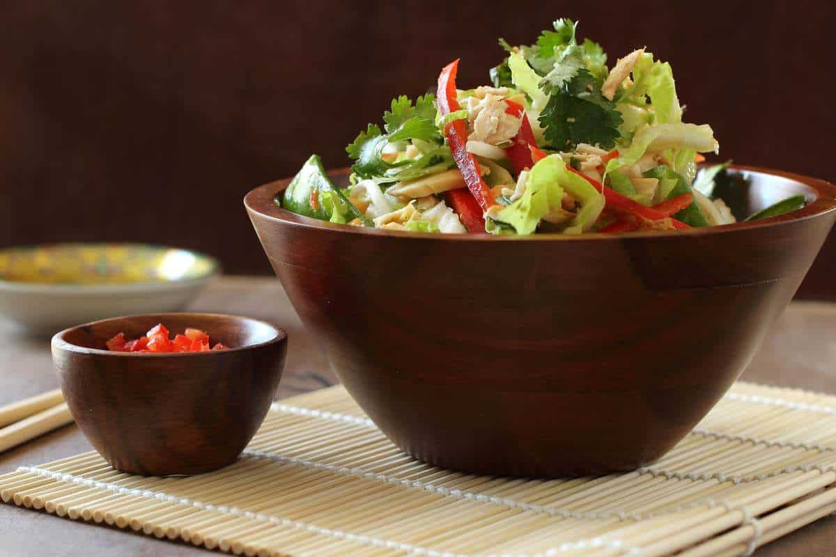 Crunchy Thai Chicken Salad