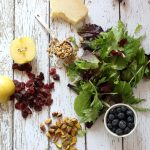 Blueberry and Apple Salad with Parmesan