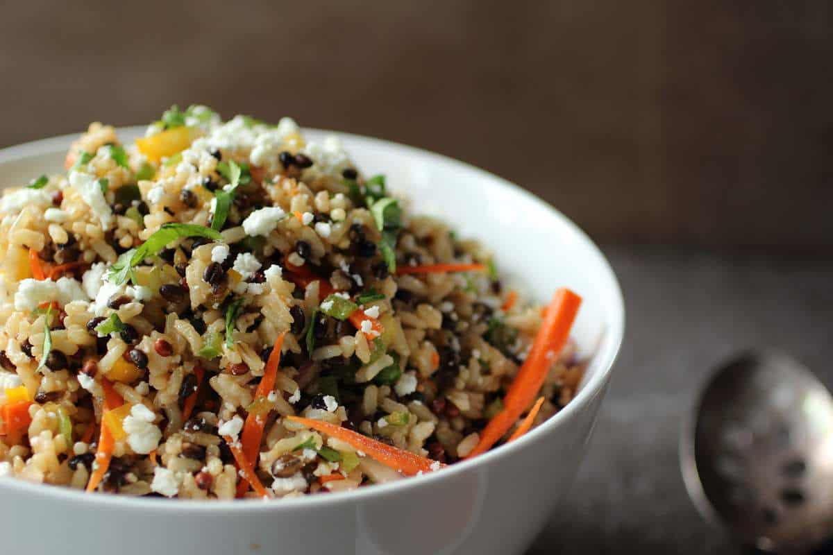Healthy Multigrain Salad with Feta