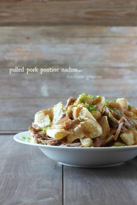 Pulled Pork Poutine Nachos