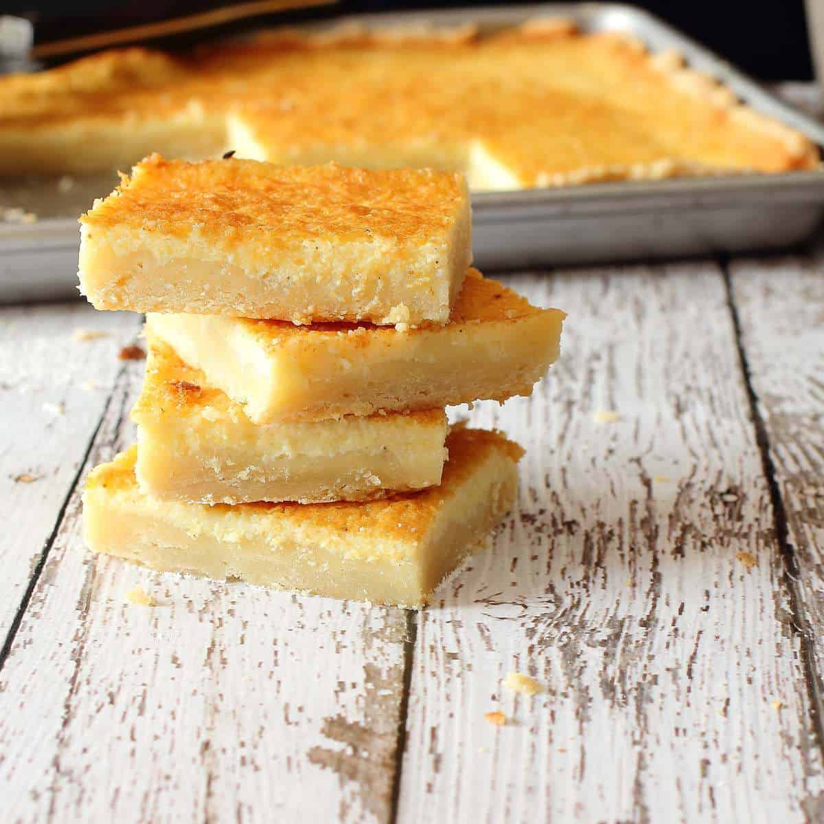 Easy Southern Buttermilk Slab Pie