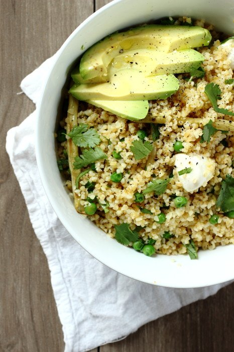 how to cook bulgur wheat for salad