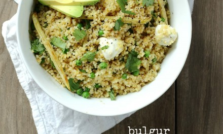 Bulgur Wheat Salad with Mozzarella