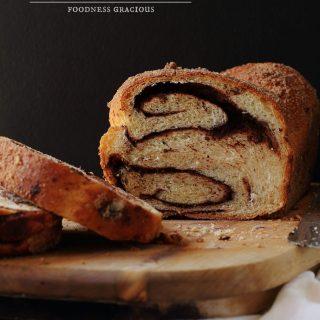 Chocolate Cinnamon Babka Bread