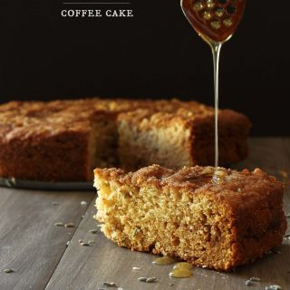 Lavender and Honey Coffee Cake