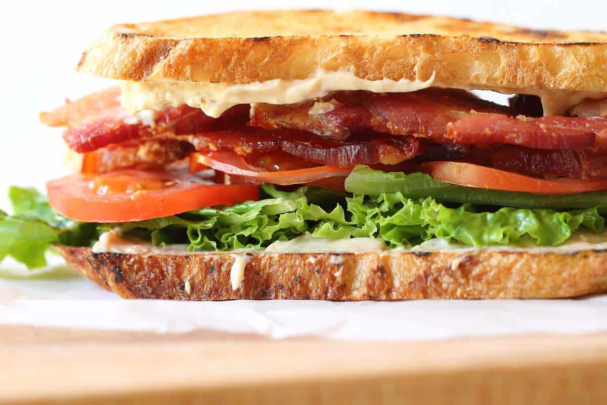 and tomato s and wich tomato and bacon s and wiches with bacon basil ...