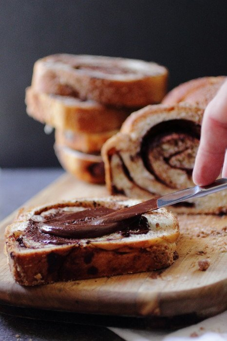 Chocolate Cinnamon Babka Bread