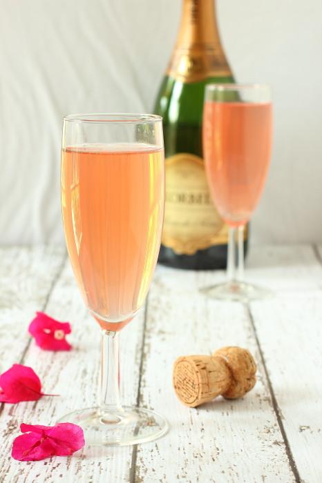 Blood Orange Champagne Mimosa