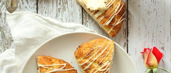 Macadamia Nut White Chocolate Scones