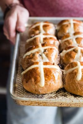 Easy Easter Hot Cross Buns