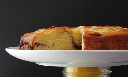 Lemon Raspberry Gooey Butter Cake