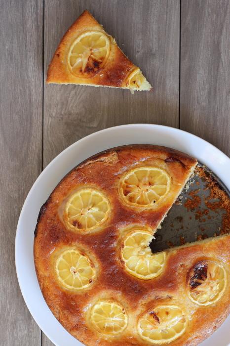 Lemon Raspberry Butter Cake