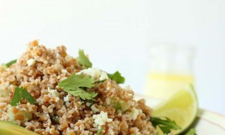 Healthy Bulgur Wheat Salad