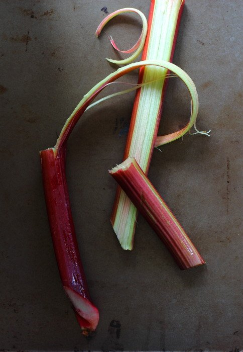... and let me know if you love rhubarb and what you like to make with it