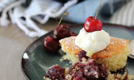 Cherry Sponge Cake Recipe