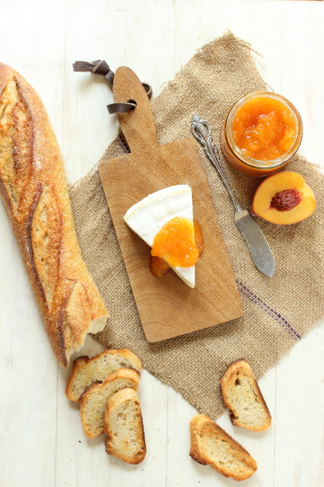 This jam is packed with juicy chunks of fresh peaches
