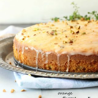 Moist yellow cake with an orange floral flavor