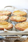 Flaky pastry packed with soft sweet pears