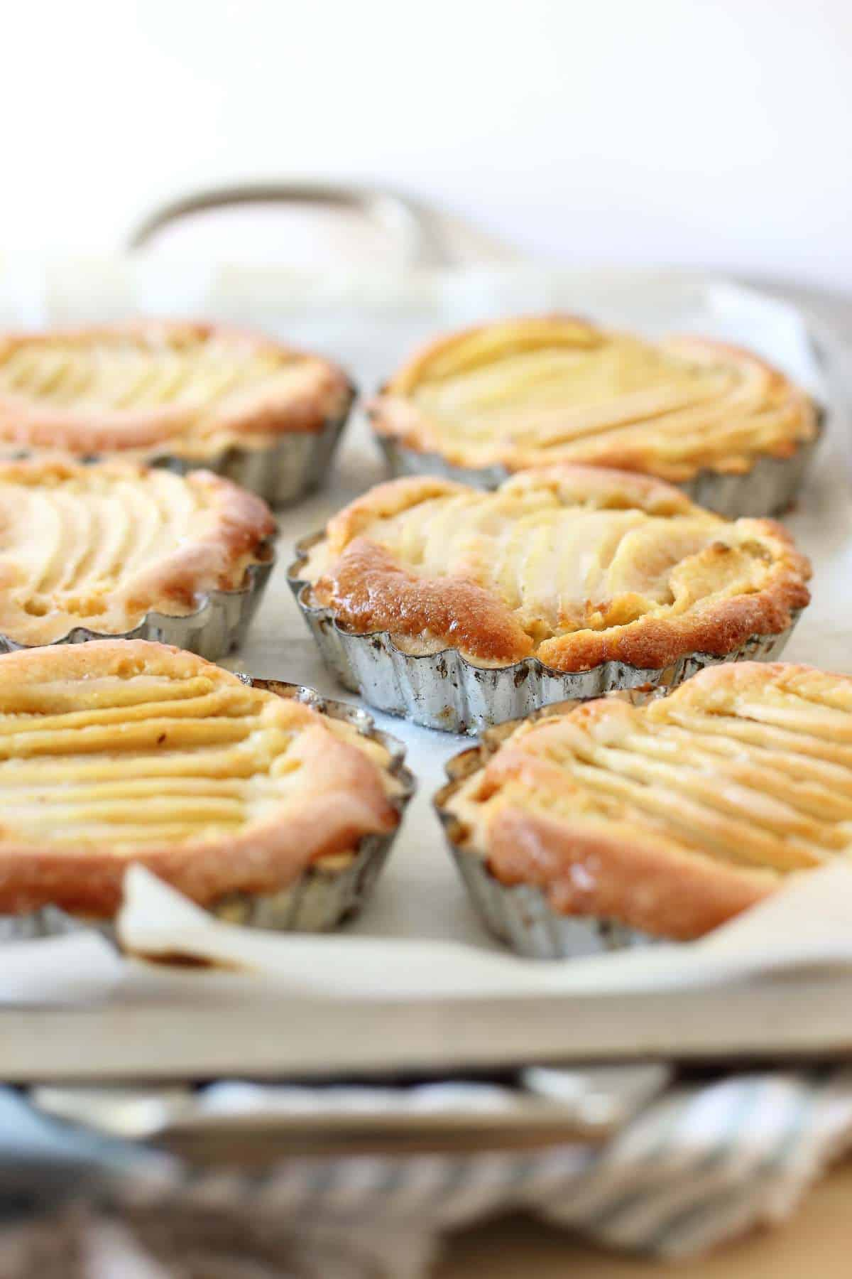 Flaky Butter Pear Tarts