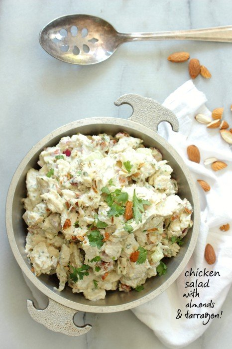 Chicken Salad with Almonds and Tarragon