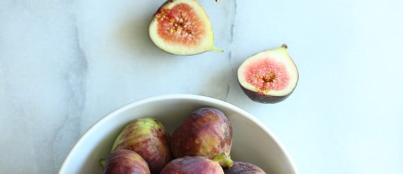 Juicy ripe figs