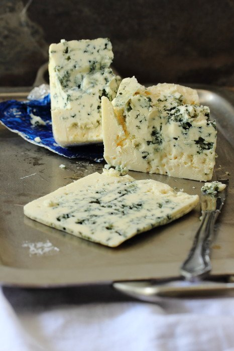 Creamy and tangy Wisconsin Blue Cheese