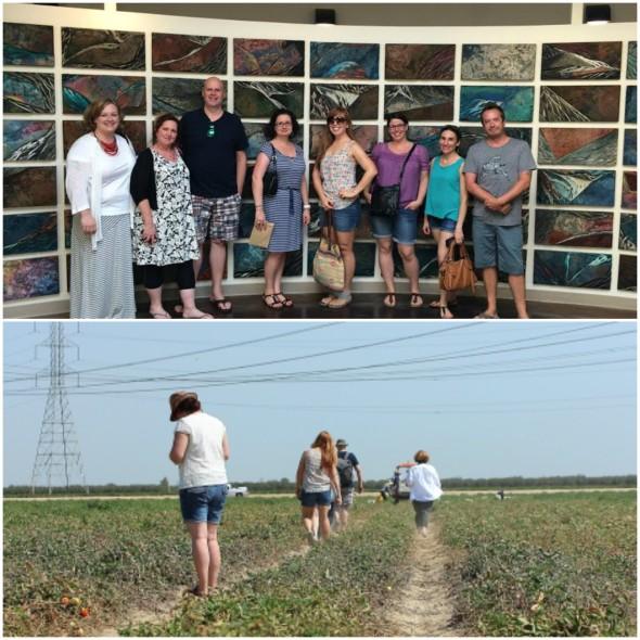 Sabra Salsa farm tour