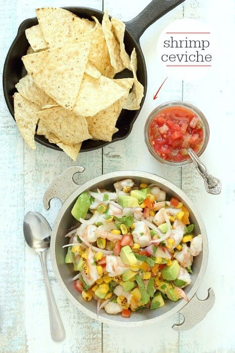 Mexican Shrimp Ceviche with Sabra Salsa