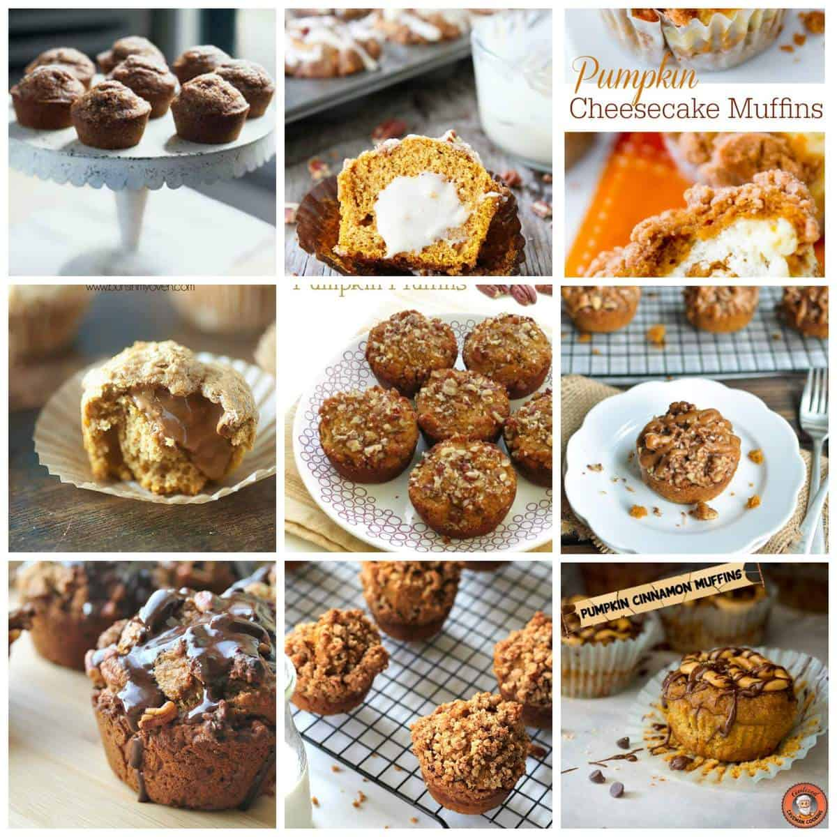 15 Awesome Pumpkin Muffin Recipes