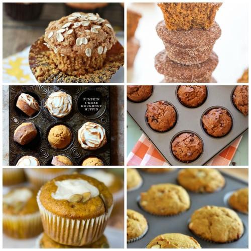 Great ideas for pumpkin muffin breakfasts