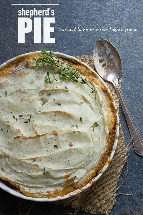 Lamb and Potato Shepherd's Pie
