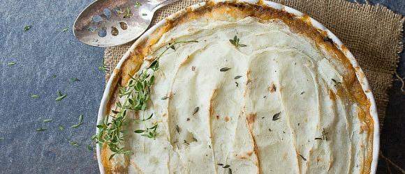 Lamb and Potato Shepherd's Pie
