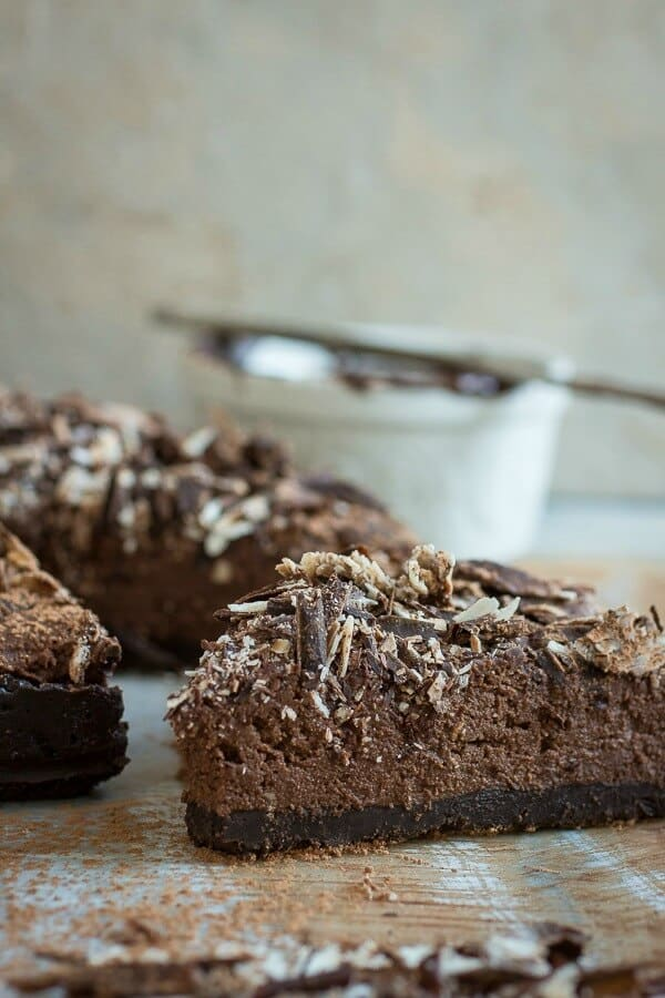 The best chocolate mousse tart you'll ever taste. Try this for Valentine's Day