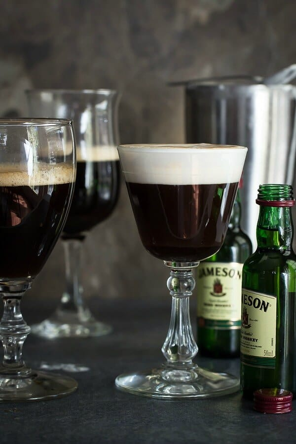 Creamy, rich and warm this traditional Irish Coffee is sure to put you in the spirit for St Patrick's day!