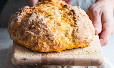 Rosemary Cheddar Irish Soda Bread