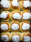 Fresh made sweet coconut buns