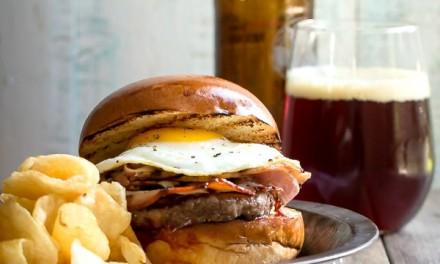 Crispy Porchetta Burger