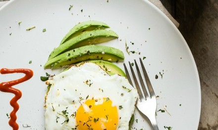Avocado and Egg with Fresh Thyme