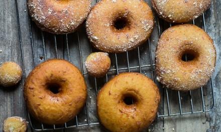 Savory Basil Pesto Hummus Donut