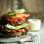 Turkey Burger BLT