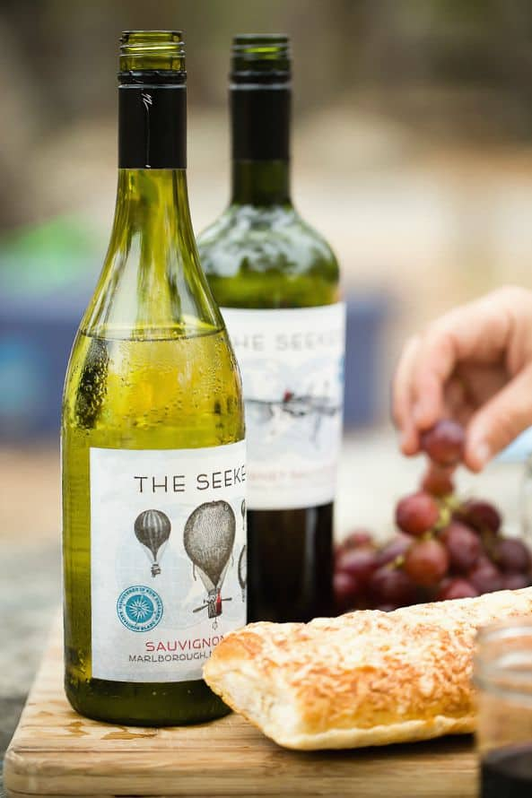 Easy Charcuterie Plate with Seeker Wines and a Santa Barbara Trip