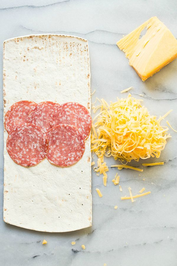 Salami and Tillamook sharp cheddar lunchbox