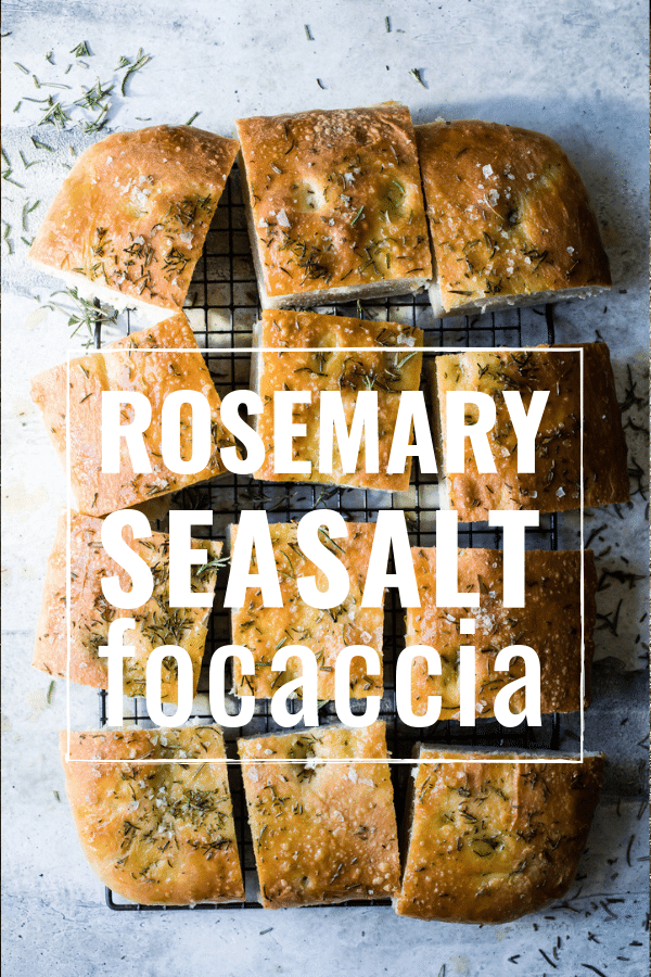 rosemary sea salt focaccia bread