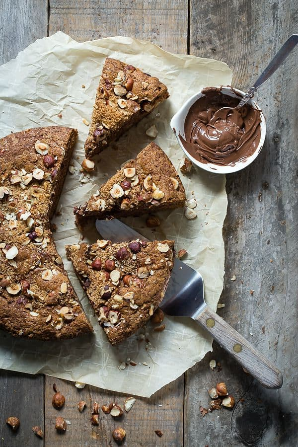 Banana Bread with Hazelnuts and Chocolate