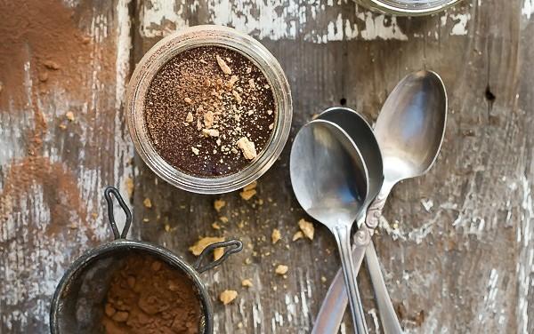 Chocolate Caramel Pumpkin Pudding