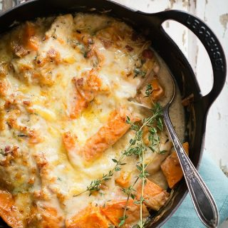 Chicken Casserole with sweet potato