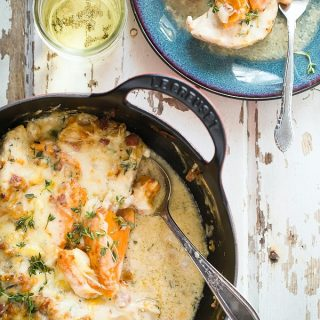 Chicken Casserole with sweet potato