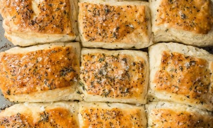 Savory Garlic and Thyme Buttermilk Biscuits
