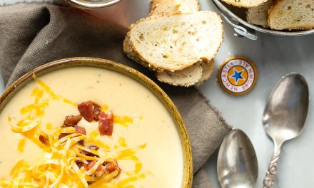 Chorizo Con Queso with Newcastle Brown Ale