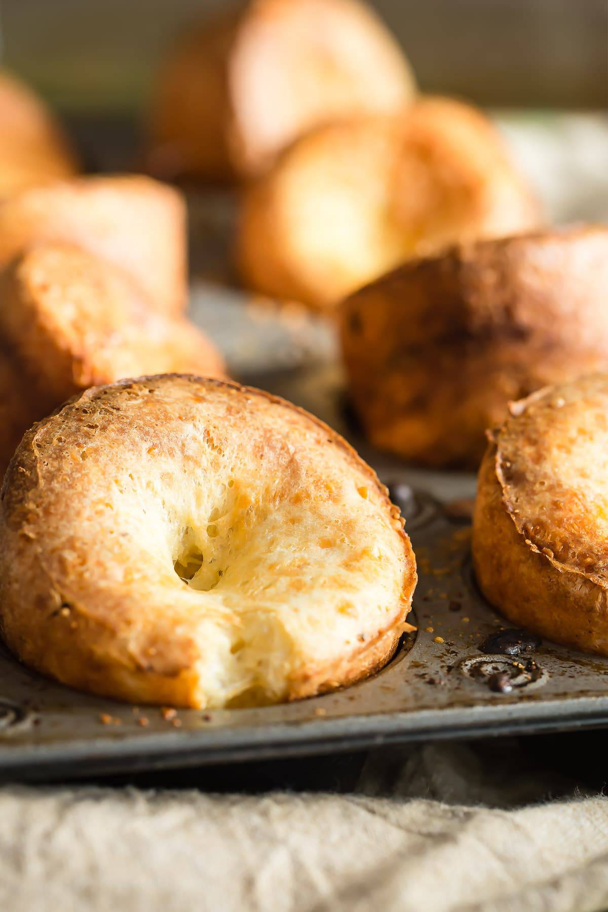 Giant Cheese Popovers Recipe — Dishmaps